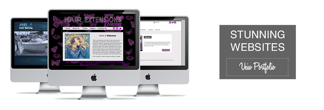 Stunning websites for your business